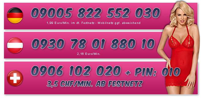 Nummern für Telefonsex Frauen mit dicken Titten