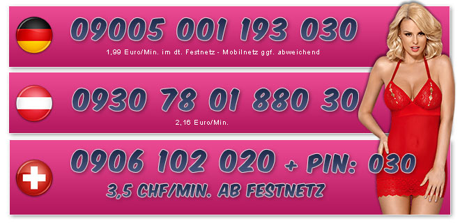 Telefonsex Nummern der Hausfrau